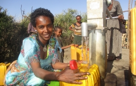 ORDA has provided safe drinking water to 180,000 people in three woredas.